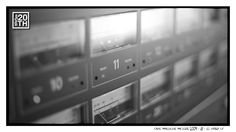 """Photo 308 of 365  Tape Machine Meters 2009 - 11 - El Paso TX    When was the last time you made """"it"""" go to 11?    #Hanson #Hanson20th"""