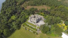 Castlewellan Castle and Forest Park, County Down, Northern Ireland