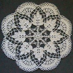 Home Decor Crochet Patterns Part 92 - Beautiful Crochet Patterns and Knitting Patterns Thread Crochet, Filet Crochet, Irish Crochet, Crochet Stitches, Free Crochet Doily Patterns, Crochet Motif, Crochet Designs, Free Pattern, Knitting Patterns