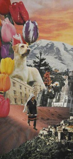 """Saatchi Art Artist Jennifer Wojinski; Collage, """"'The Best Friend'"""" #art"""