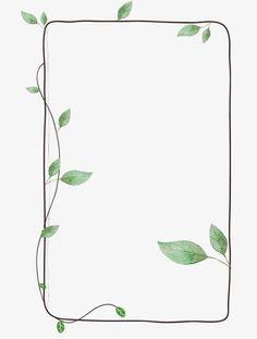 Frame Clipart Green Leaf - Home: Living color Bullet Journal Art, Bullet Journal Ideas Pages, Bullet Journal Inspiration, Flower Backgrounds, Wallpaper Backgrounds, Iphone Wallpaper, Photo Frame Wallpaper, Page Borders Design, Border Design