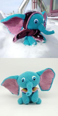 Die 77 Besten Bilder Von Elefanten Häkeln Elephants Crochet Dolls