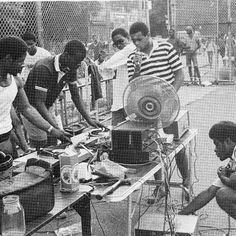 """Hiphop Megamix paying homage to the early years of hiphop from the late 70s and early 80s.  Also, a special """"I used to Love H.E.R."""" Tablehog Megamix feat. Cuts by DJ Sureshot of the Tablehogs!!"""