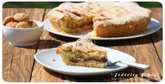 La cucina di Federica: Crostata con amaretti e crema alle mandorle