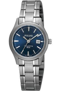 Pulsar Ladies Titanium Watch £83