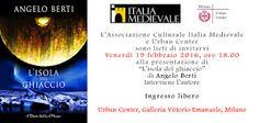 """MedioEvo Weblog: """"L'isola del ghiaccio"""" presentazione a Milano"""
