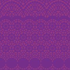Berlintapete - Wallpaper On Demand - Designtapete - Trends - Geometrisch - Borten Hintergrundmuster Lila Nr. 14663: Amazon.de: Baumarkt
