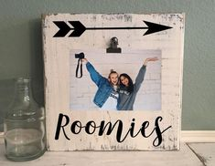 And They Were Roommates Sign, College Dorm Sign, College adorn Decor, Roommate Decor Roommate Decor, Roommate Gifts, College Roommate, College House, College Apartments, Roommate Ideas, College Students, Apartment Ideas College, College Roomate Gifts