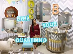 Tour pelo Quartinho do Bernardo! - YouTube