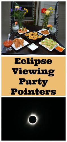 From safety to sips, and, of course, the SNACKS, this guide has you covered for the Solar Eclipse Kids Learning Activities, Home Learning, Fun Learning, Solar Eclipse 2017, Best Party Food, Appetizers For Party, Party Games, Pointers, Party Planning