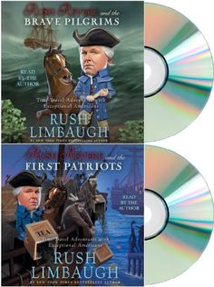 Rush Revere and the Brave Pilgrims & Rush Revere and the First Patriots (2 Audiobook set) [Rush Revere and the Brave Pilgrims & Rush Revere and the First Patriots]