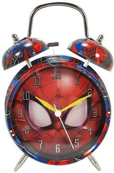 Toy Cars For Kids, Toys For Boys, Spiderman Face, Amazing Spiderman, Clock For Kids, Kids Clocks, Frozen Cupcake Toppers, Bloom Fashion, Purple Bedrooms