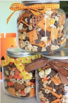 Cute Halloween & Thanksgiving snacks