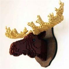 Lego Moos Head
