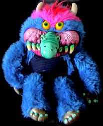 My Pet Monster-- came with the breaking handcuffs... so cool!