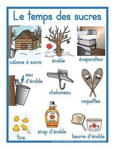 French Teaching Resources, Teaching French, Teaching Tools, Winter Activities, Kindergarten Activities, Activities For Kids, Group Activities, Amelie Pepin, Emotions Preschool