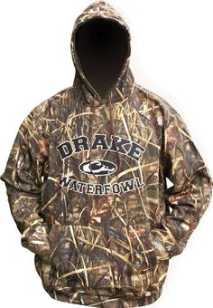 3 Best Interesting Waterfowl Clothes from Drake Clothing Arrives For Sporting - Drake Clothing Drake Hoodie, Camo Hoodie, Sweater Hoodie, Duck Hunting Gear, Hunting Clothes, Waterfowl Hunting, Hunting Stuff, Drake Clothing, Men's Clothing