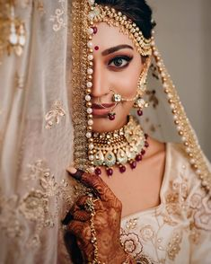 Perfect finishing to a bridal look is given by stunning nose rings! Book the best makeup artist now with BookEventZ to get the perfect bridal look on THE DAY! Indian Wedding Pictures, Indian Bridal Photos, Indian Wedding Couple Photography, Indian Wedding Bride, Indian Bride Poses, Bengali Wedding, India Wedding, Desi Wedding, Gothic Wedding