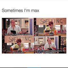 Max/ Wizards of Waverly Place.harper, jerry, and max were the funnist ones on that show! One of my favourite scenes from wowp Funny Shit, Funny Posts, The Funny, Hilarious, Funny Stuff, Memes Humor, Chisme Meme, Old Disney Shows, Old Disney Channel