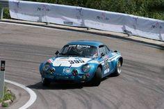 Renault Alpine A110 trifting
