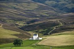 Corgarff Castle Scotland. Coco writes: Took a closer photo driving by this beautiful castle.