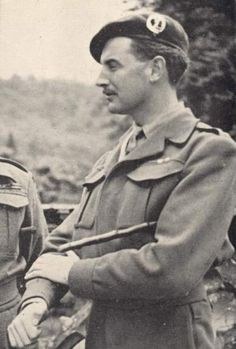 Simon Fraser, 15th (17th) Lord Lovat. Wartime commando.