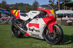 The one that honors Wayne Rainey's championship-winning 1991 Yamaha YZR500 as Best of Show.