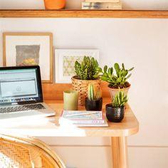 Plantas de oficina y sus beneficios Feng Shui, Casas En Atlanta, Study Desk, Floating Nightstand, Home Office, Sweet Home, Plants, Ideas, Furniture