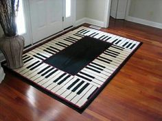 Piano carpet