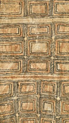 Tapa cloth from Oro province in Papua New Guinea, collected in the 1920s || May 2014, Catalogue, via the beautiful boards of amparo s