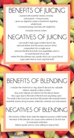 Soul Wellness Daily - Juicing vs Blending