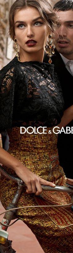 DOLCE & GABBANA- Ad Campaign l Ria
