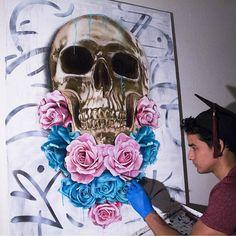 - Follow the artist:  @dannydoya  #artbotic #artist #art #