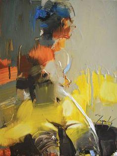 "Saatchi Art Artist Iryna Yermolova; Painting, ""Rainy morning I"" #art"