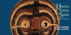 Mascara kifwebe da etnia LUba, feita em madeira por artesãos da República Democrática do Congo - Casa de Oswaldo Cruz