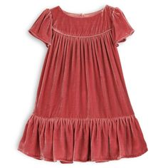 Love this Velour Dress. Available Now. LOL Kids Sunset