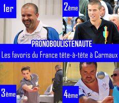 """""""France tête-à-tête 2017 à Carmaux, les favoris des Boulistenautes"""""""