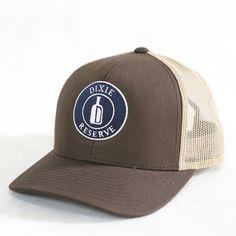 Dixie Reserve Low-Pro Hat Brown/Khaki