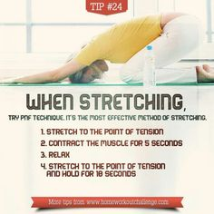 When Stretching