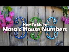 Stunning Mosaic Projects for Your Garden - YouTube