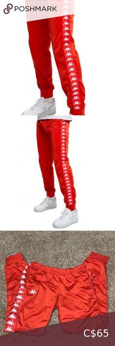 Check out this listing I just found on Poshmark: Red kappa joggers. #shopmycloset #poshmark #shopping #style #pinitforlater #Kappa #Pants Plus Fashion, Fashion Tips, Fashion Trends, Kappa, Joggers, Stylists, Check, Red, Pants