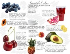 Foods that improve your skin