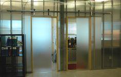 Krown Lab interior barn door and barn door hardware