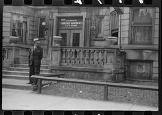 """Apartment building now subdivided into """"kitchenettes,"""" Chicago, Illinois Native Son, American Photo, Furnished Apartment, Library Of Congress, Good Ol, Kitchenettes, Chicago Illinois, City, Building"""