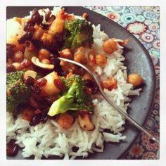plat bio complet végétarien indien