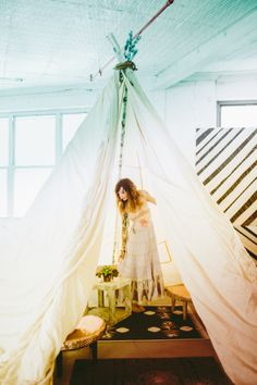 teepee + Patina + Domestic Construction #boho