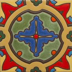 From the California Revival collection, Del Rey, Designed by Susanne Kibak Redfield at Tango Tile
