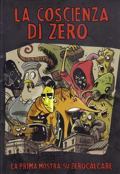 Zerocalcare, La ciscienza di zero, poster per la mostra allo spazio WOW di Milano