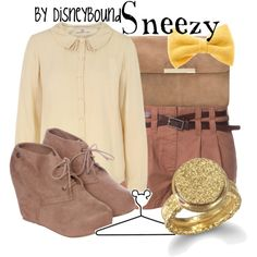 """""""Sneezy"""" by lalakay on Polyvore #disney"""