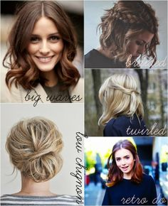Blueberry Days: How To: Style a Long Bob